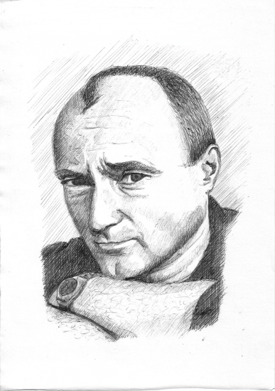 Phil Collins par sketch31